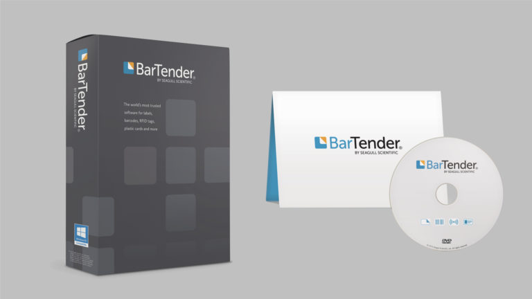 BarTender Software Box, Software Sleeve and DVD