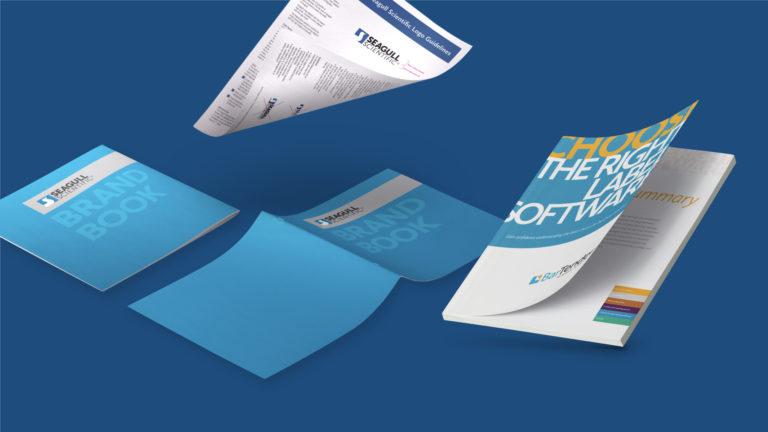 BarTender Brand Guide, Logo One-Sheet, and Enterprise Sales Booklet
