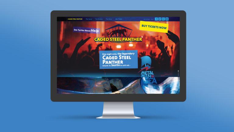 Metal Men and the Sea Concert Website